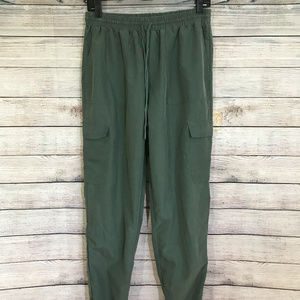 Kendall and Kylie Soft Green Joggers